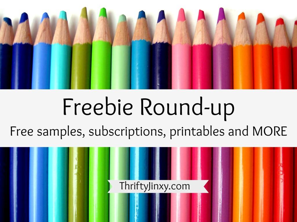 freebie round-up