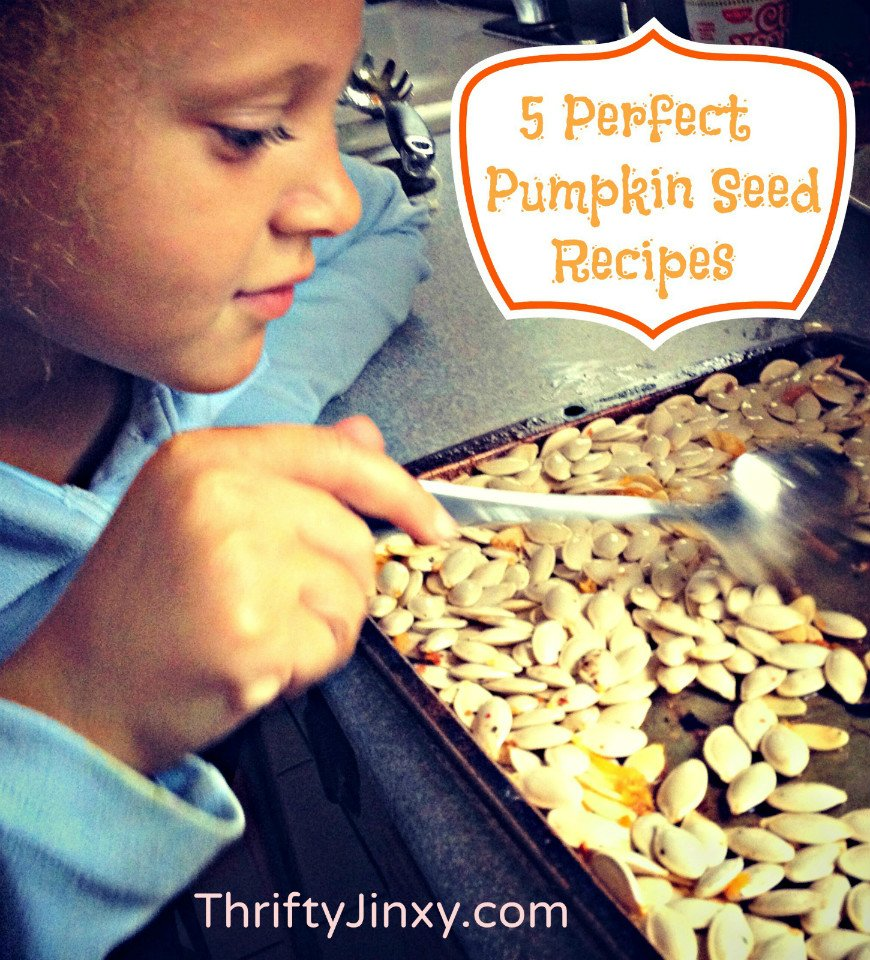 5 Perfect Pumpkin Seed Recipes: Pesto, Salad Garnish, Candy and MORE