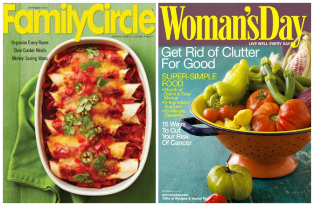 Family Circle and Woman's Day Magazines