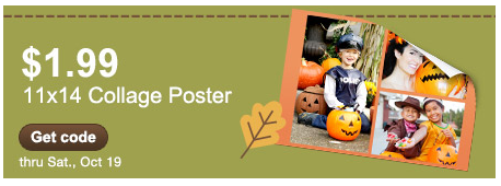 Wow! 11×14 Photo Collage Print only $1.99 from Walgreens!