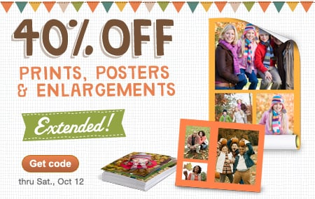 Buy 1 Get 2 Free Photo Calendars PLUS 40% Off Prints from Walgreens