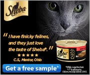 FREE Sample of Sheba Cat Food