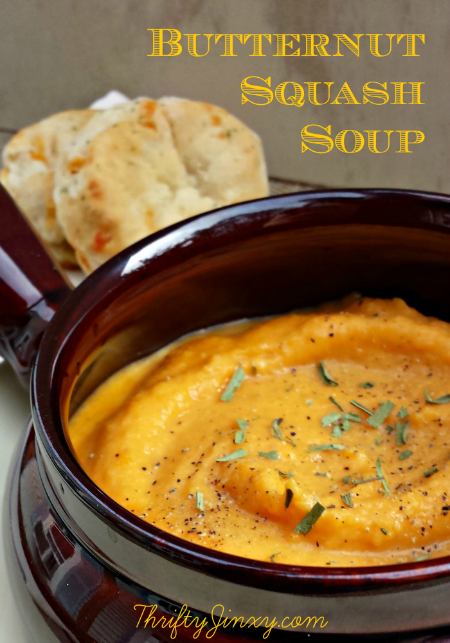 Easy Butternut Squash Soup Recipe
