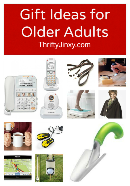 Older Adults Gift Ideas - 12 Great Solutions! - Thrifty Jinxy