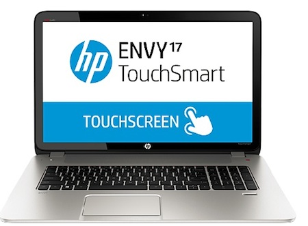 Enter to Win an HP ENVY TouchSmart 17t-j100 Quad Edition Notebook PC