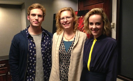 My Interview with Sam Claflin and Jena Malone from THE HUNGER GAMES: CATCHING FIRE