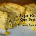 Moist Corn Bread Recipe