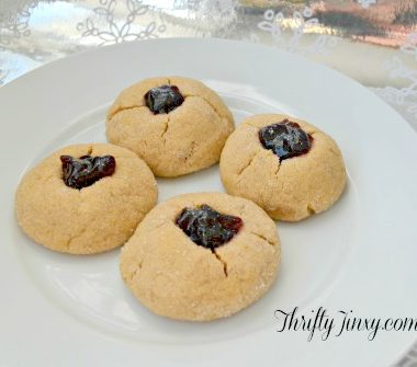Peanut Butter and Jelly Thumbprint Cookies Recipe