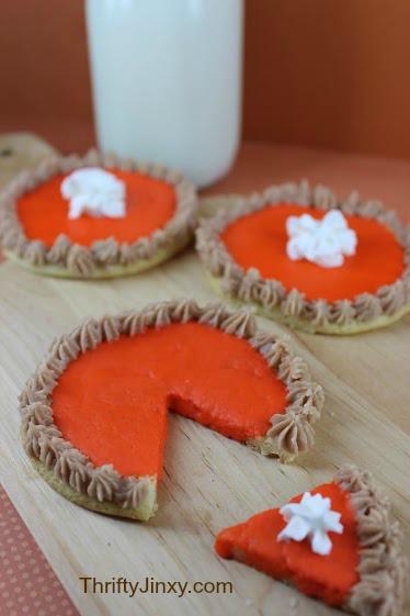 Pumpkin Pie Sugar Cookies No Text