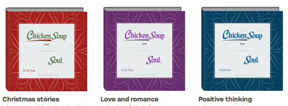 Blurb's Chicken Soup for the Soul Books – A Special Personalized Gift