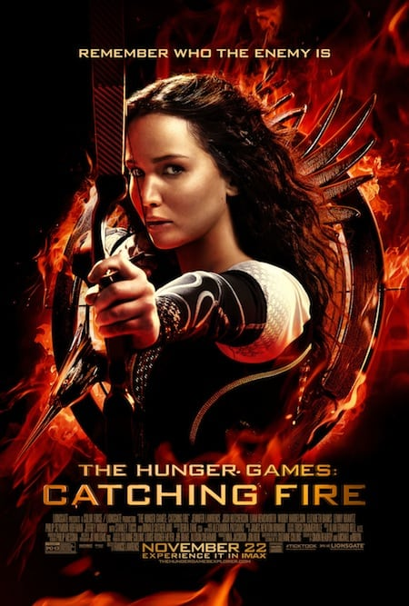 THE HUNGER GAMES: CATCHING FIRE Prize Pack Reader Giveaway