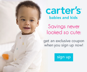 20% Off Entire Purchase of $40 or More at Carter's!