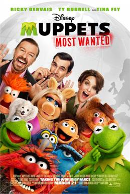 Disney's MUPPETS MOST WANTED Trailer Just Released + Muppet Guest Blogs