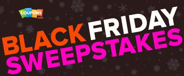 Black Friday Shopping with Coupons.com – Enter the Sweepstakes & Giveaway!