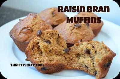 Raisin Bran Muffins Recipe – Great for Breakfast on the GO!