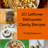 20 Leftover Halloween Candy Recipes – Brownies, Cupcakes, Salads, Dips and MORE!