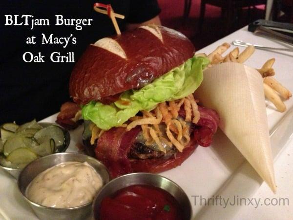 Oak Grill Review BLTjam Burger