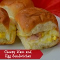 Cheesy Ham Egg Sandwiches Recipe