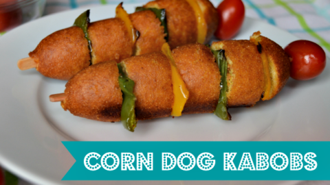 Easy Corn Dogs Kabobs