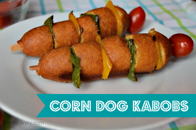 Corn Dog Kabobs Recipe #GetCorny
