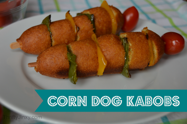 Easy Corn Dogs Kabobs Recipe