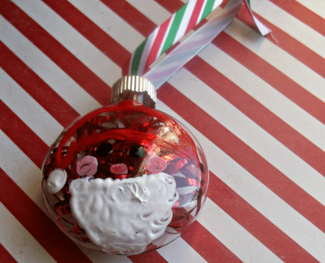 DIY Santa Claus Ornament Craft