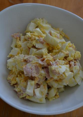 Ham Egg Mixture