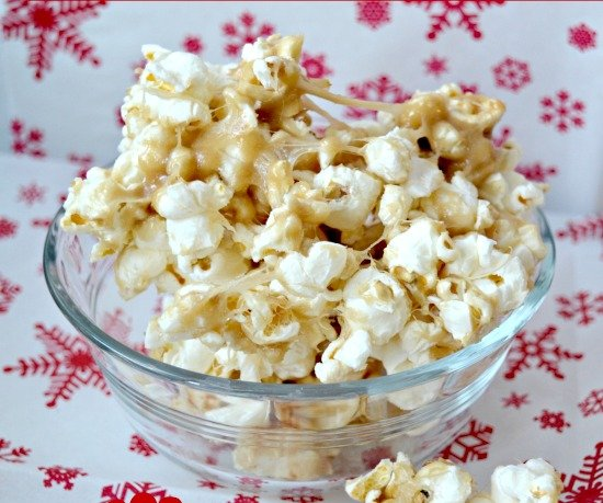 Microwave Caramel-Popcorn Recipe