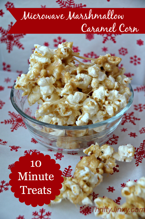 Microwave Marshmallow Caramel Corn Recipe