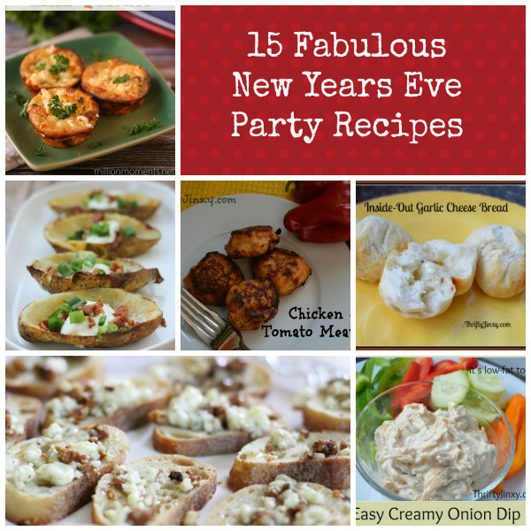 15 Fabulous New Year's Eve Party Recipes