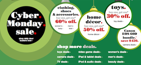 Target Cyber Monday Deals: Clothes B1G1 60% Off, Home Decor B1G1 50% Off + MORE!