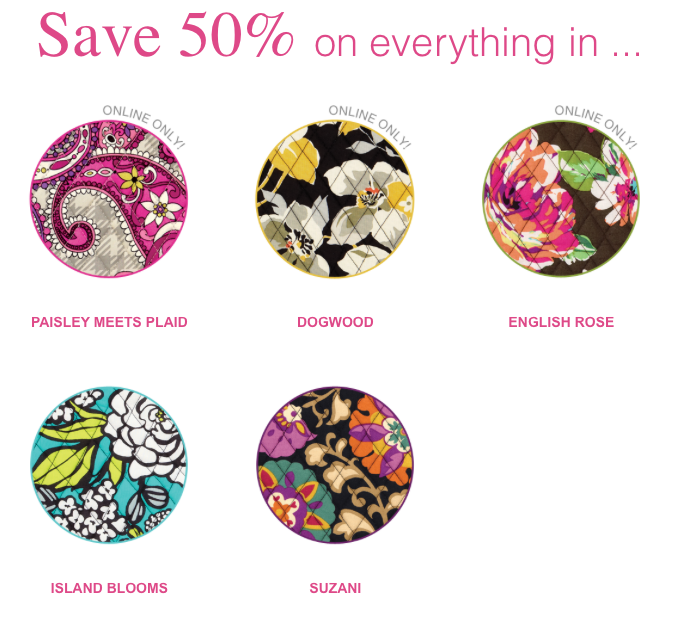 Vera Bradley 40% Off EVERYTHING In Select Patterns Thrifty Jinxy Amazing Vera Bradley Pattern Names