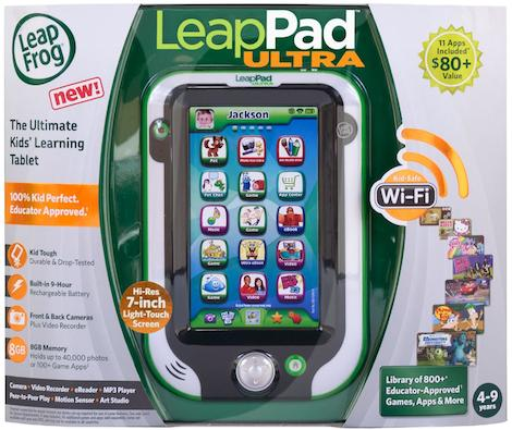 Kmart Fab 15 Toy List - LeapFrog LeapPad Ultra Reader Giveaway