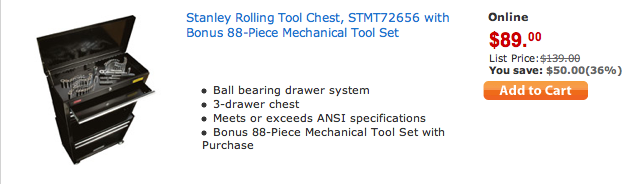 stanley rolling tool chest