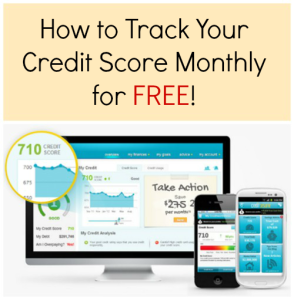 How to Track Your Credit Score Monthly for FREE