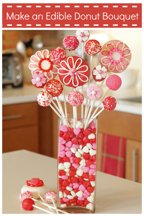 DIY Edible Valentine Bouquet