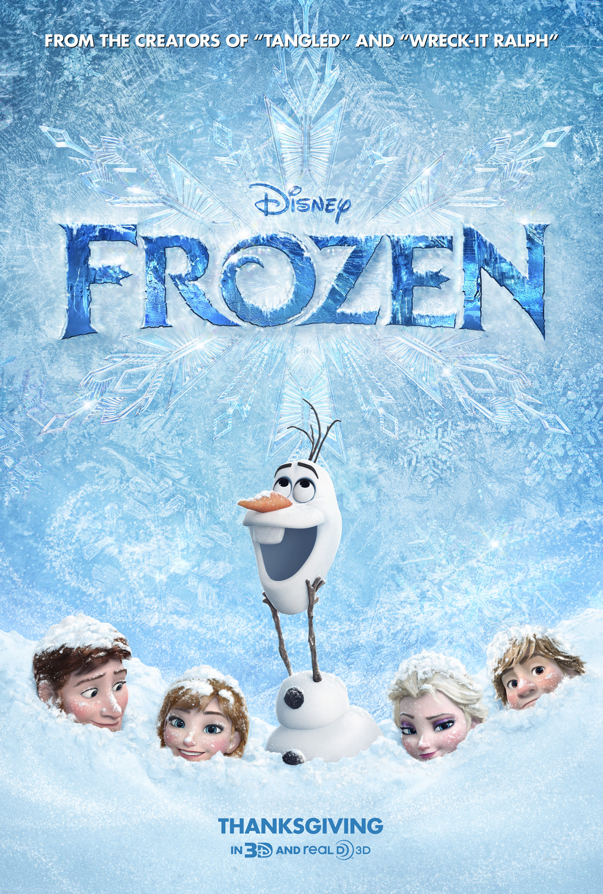 All-New Sing-Along Version of Disney's FROZEN Coming to Theatres