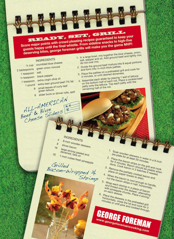Beef and Blue Cheese Sliders Recipe from George Foreman + a Giveaway!