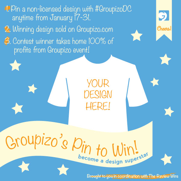 Enter to Win Big with Groupizo's Pin to Win Design Contest!