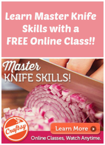 FREE Online Master Chef Knife Skills Class!