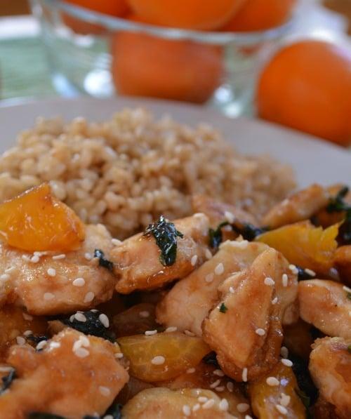 Sunshine Citrus Chicken Recipe #MyRainbow #cbias #shop