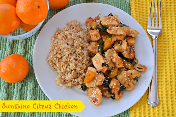 Sunshine Citrus Chicken Recipe