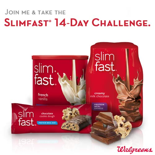 Join Us for the Slim Fast 14-Day Challenge