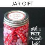 Valentine Gift in a Jar