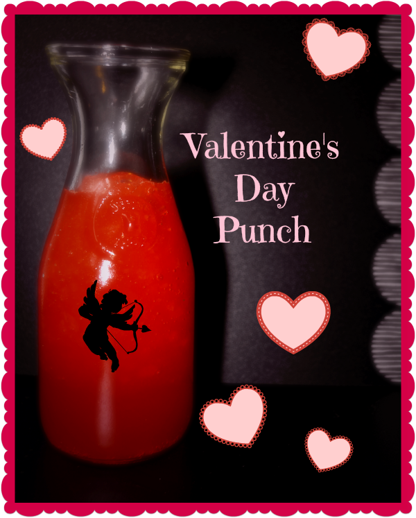 Valentine S Day Punch Recipe Thrifty Jinxy