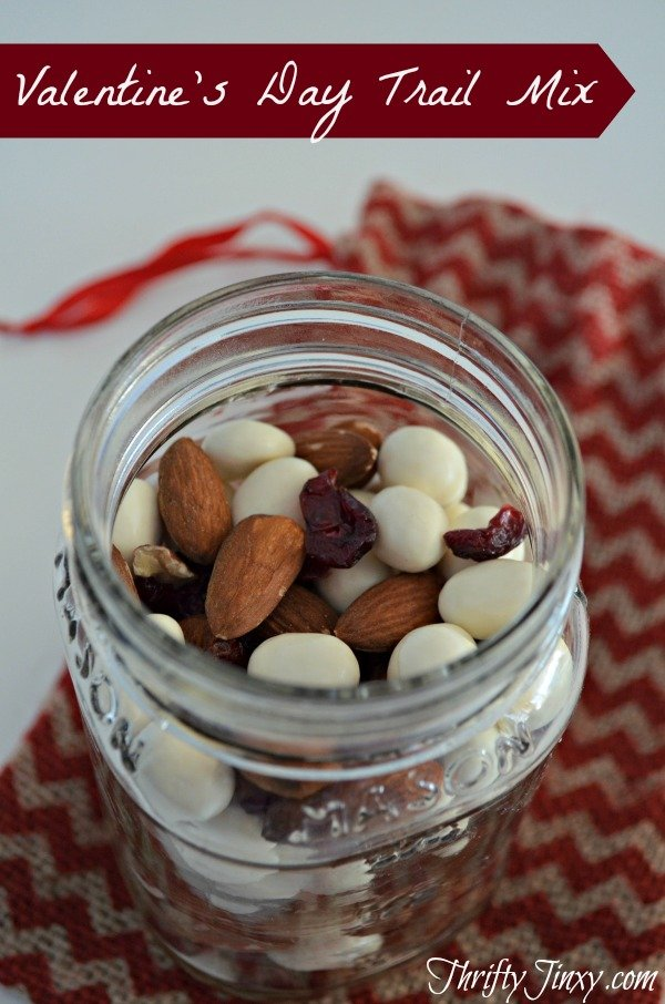 Valentines Day Trail Mix Recipe