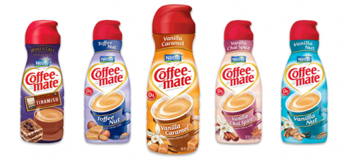 $.55/1 Coffee Mate Creamer Coupon + Target Coupon = $.57 Each!
