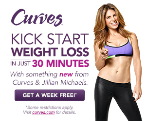 1-Week FREE Trial to Curves! And Free 30-Minute Consultation!
