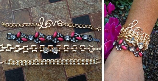 EmBrace Pave & Pearl Bracelets only $6.99 (Reg. $14.99)