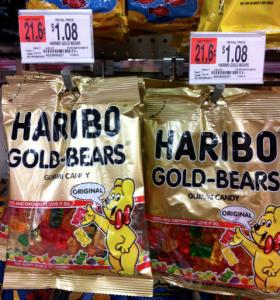 Haribo Gummy Bears only $.78 at Walmart